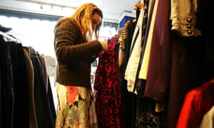 Students with a keen eye can turn a profit on charity shop clothing