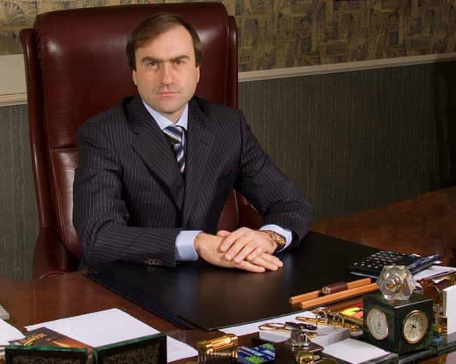 Viktor Gushan, the secretive Sheriff president.