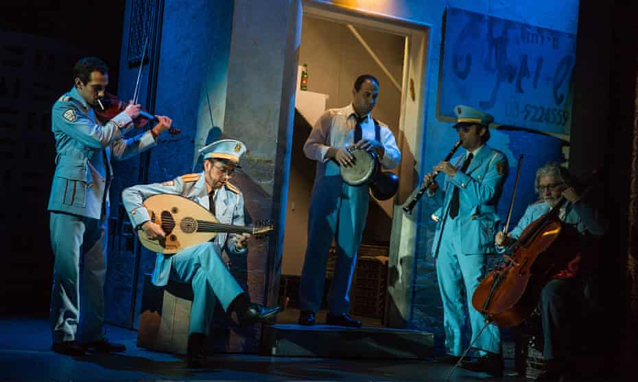 The cast of The Band's Visit, nominated for 11 Tony awards.