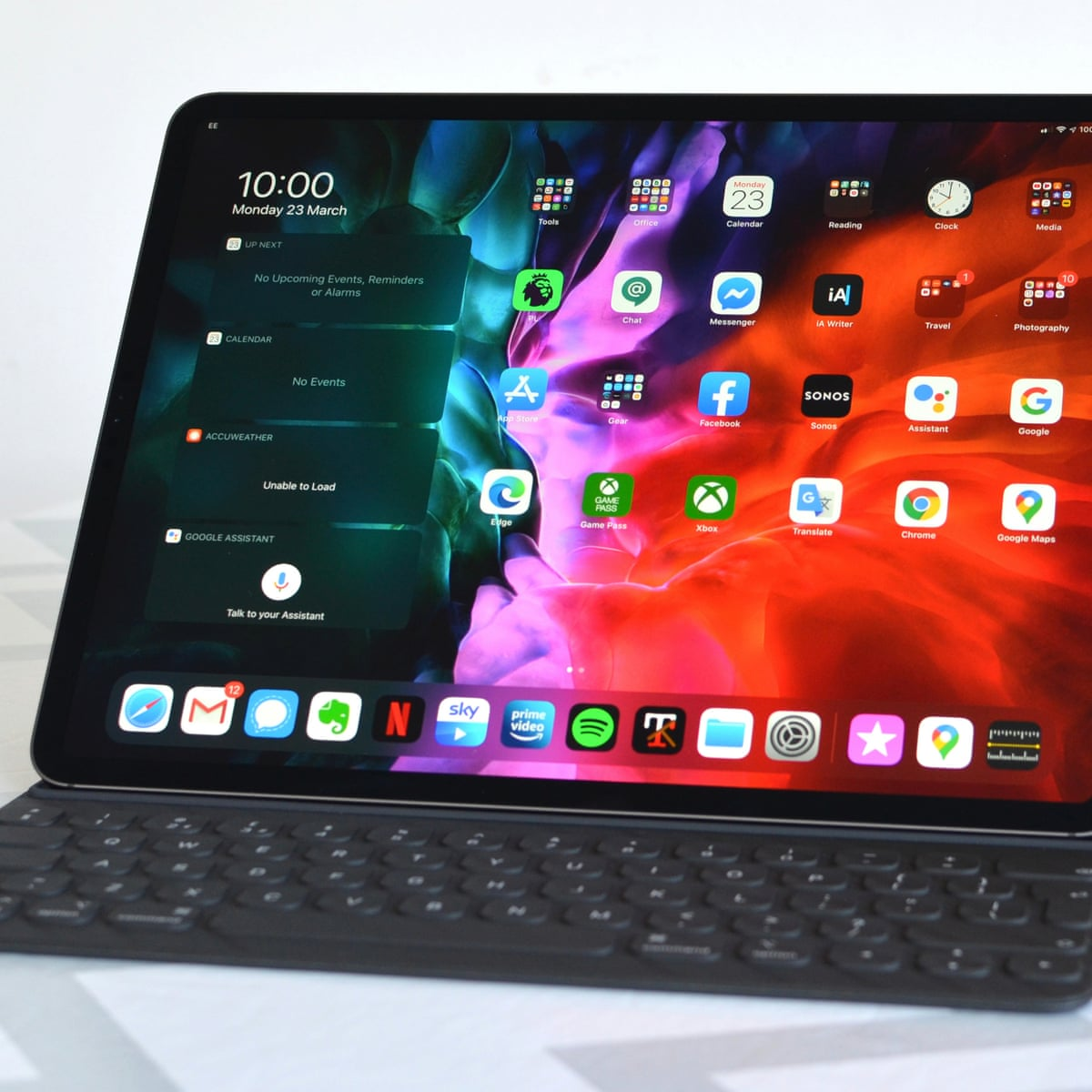 Apple 2020 Ipad Pro 12 9in Review The Best Mobile Tablet Can Now Get Real Work Done Ipad The Guardian