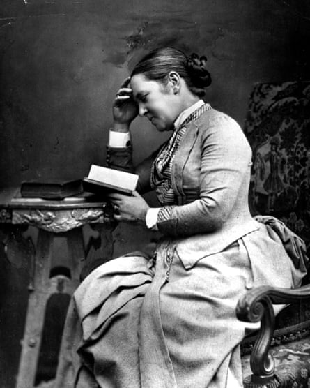 British doctor Elizabeth Garret Anderson (1836 - 1917).