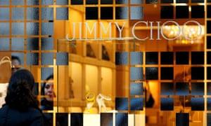 Jimmy Choo's flagship store on Bond Street in London