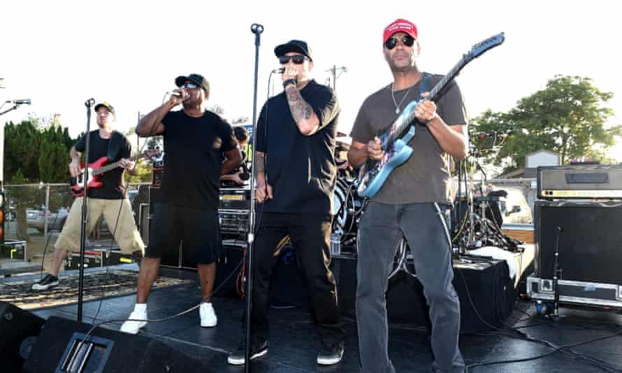 Prophets Of Rage perform live