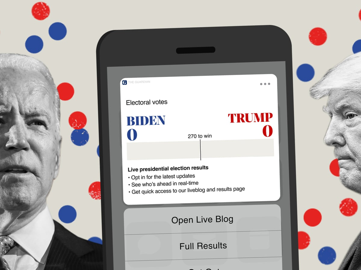 Election usa live president 2020 Presidential Election