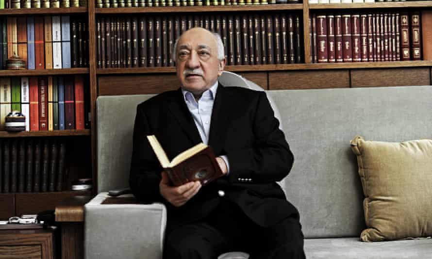 Fethullah Gülen in Pennsylvania in March 2014.