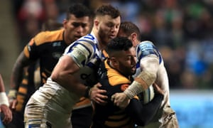 Lima Sopoaga came off the bench in Wasps' defeat by Bath.