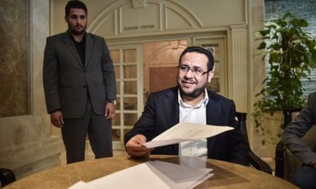 Libyan dissident Abdel Hakim Belhaj in 2018