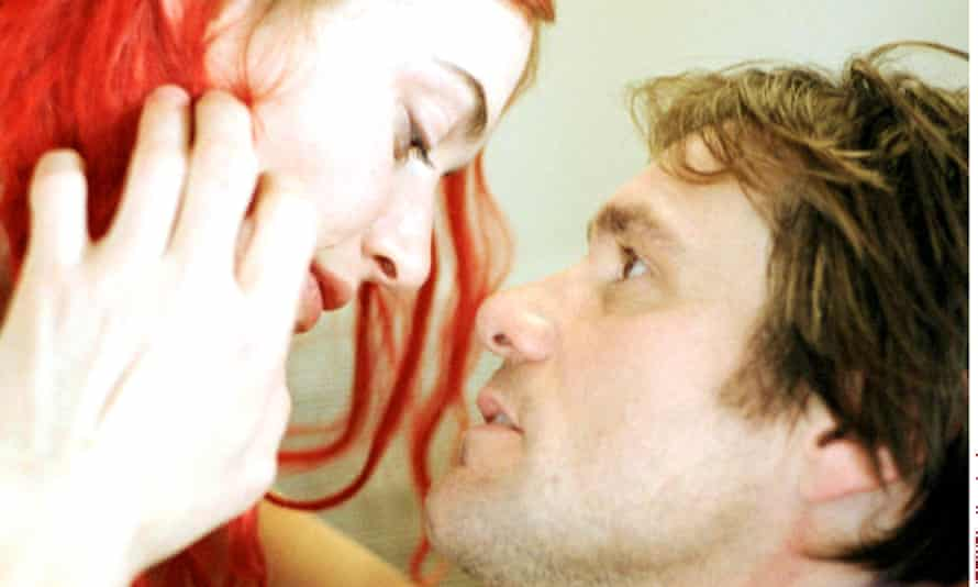 Fleeting memory: Kate Winslet and Jim Carrey in  Eternal Sunshine of the Spotless Mind.