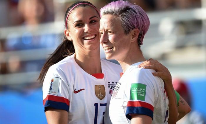 Donald Trump warns Megan Rapinoe not to 'disrespect' US flag at
