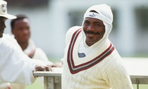 Smiling assassin: Gordon Greenidge was a towering figure at the top of the batting order in the greatest of all West Indies sides but he left his best until last in the Barbados Test of Australia's 1991 Caribbean tour.
