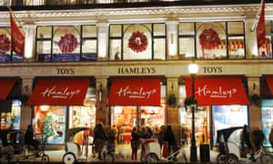 Hamleys' flagship store in Regent Street, London.