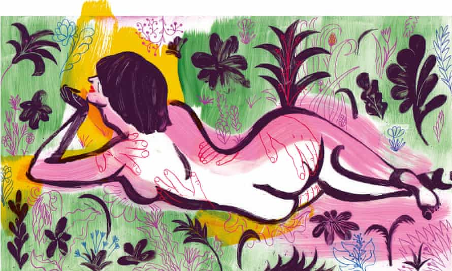 Illo for Confessions of a menopausal nymphomaniac
