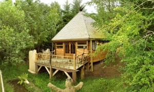 Mellowcroft ... the cabin built by Eddie Mcintosh is now at the centre of a court battle.