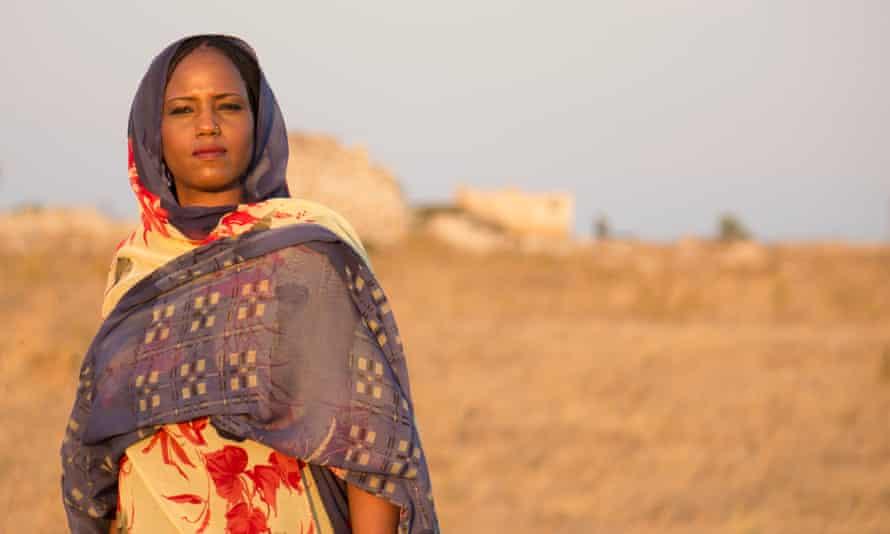 'Buoyant sound': Aziza Brahim.