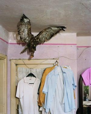 Chicran's bedroom by Alec Soth