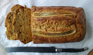 Slice of the action: a delicious loaf of banana bread.