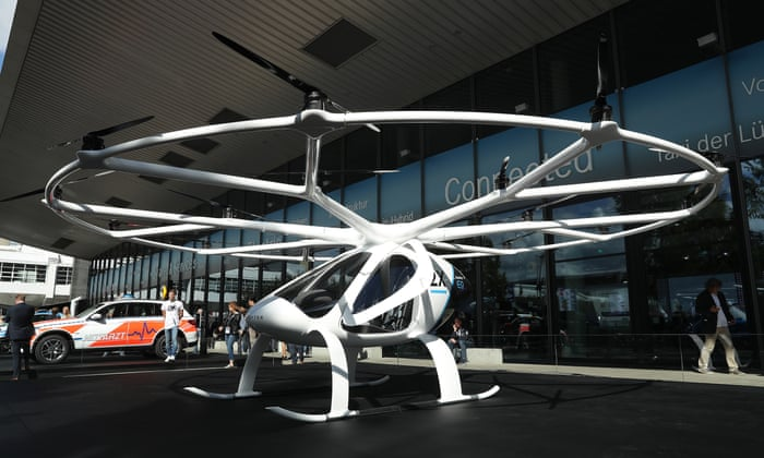 Air taxis: we have lift-off… | Technology | The Guardian