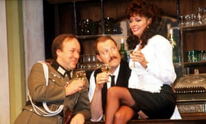 'Allo 'Allo: 'All the painful innuendo and semaphoring complicity of a vanished age emerged blushingly into the 21st century.'