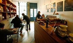 The Fortitude Coffee shop in Edinburgh.