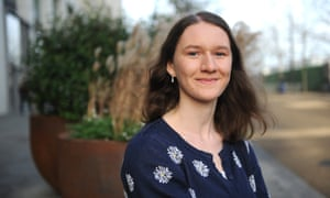 Charlotte Whittaker, who is doing a five-month placement as a carer.