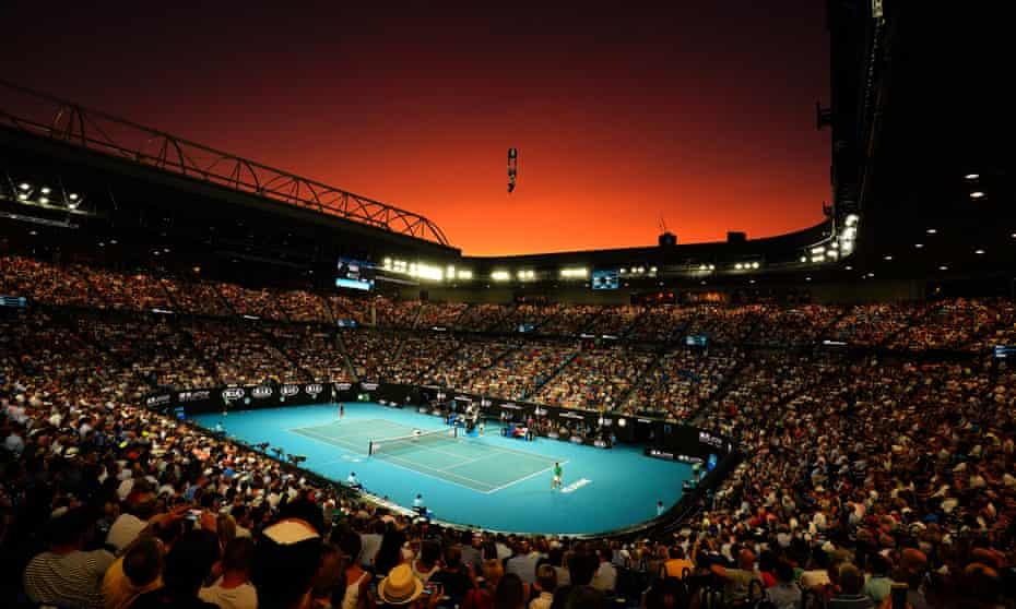 Novak Djokovic takes on Roger Federer in the semi-finals