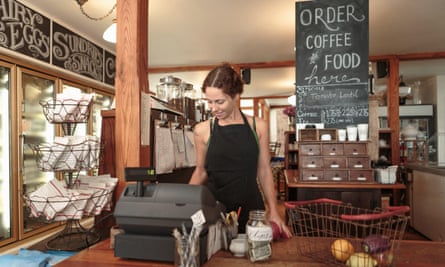 Rural social enterprises such as cafes often become community hubs in regional centres.