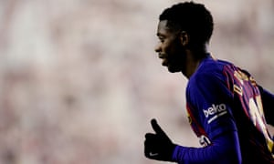 Ousmane Dembélé's story at Barcelona echoes that of Diego Maradona, struggling after arriving as the world's most expensive young player.