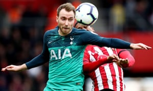Christian Eriksen has not signed a new contract but Daniel Levy has let it be known he values the midfielder at £130m.
