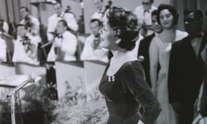 Lys Assia taking part in Eurovision  in 1956