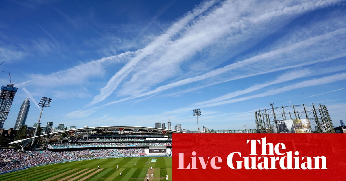 Ashes 2019: England v Australia, fifth Test day three – live!