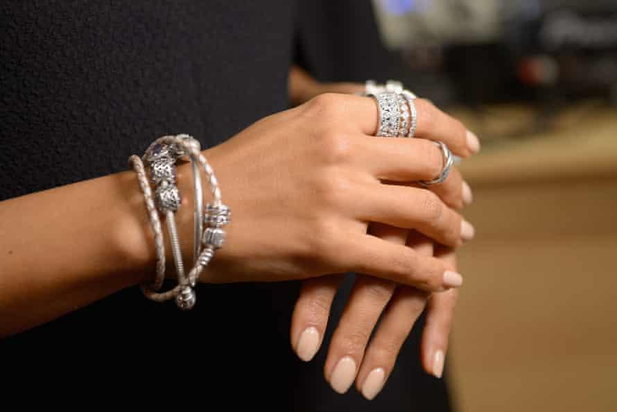 Pandora jewellery at New York Fashion Week.
