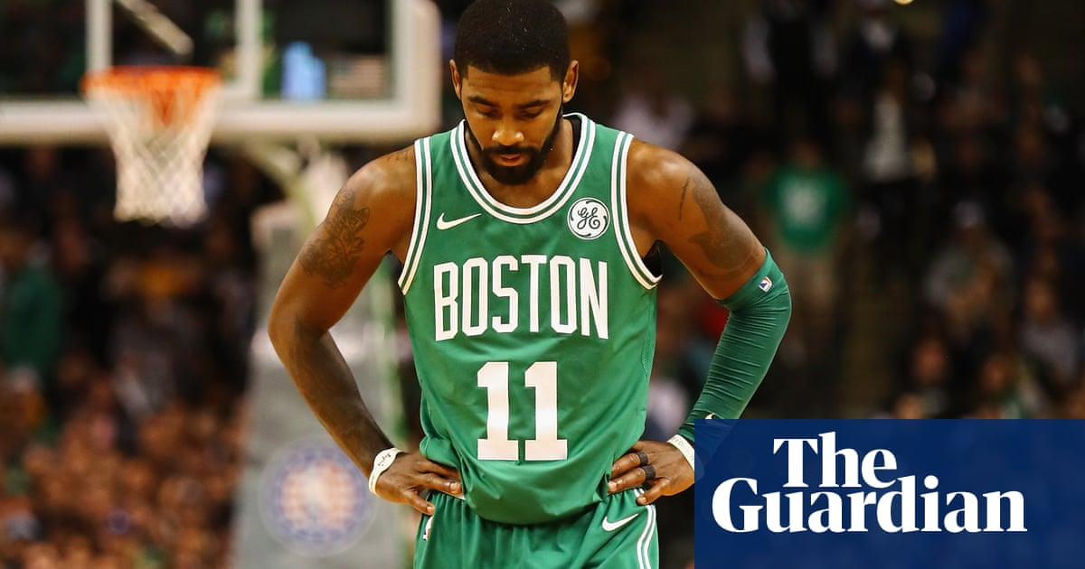 70a55286047 Boston Celtics  Kyrie Irving needs left knee surgery and will miss playoffs
