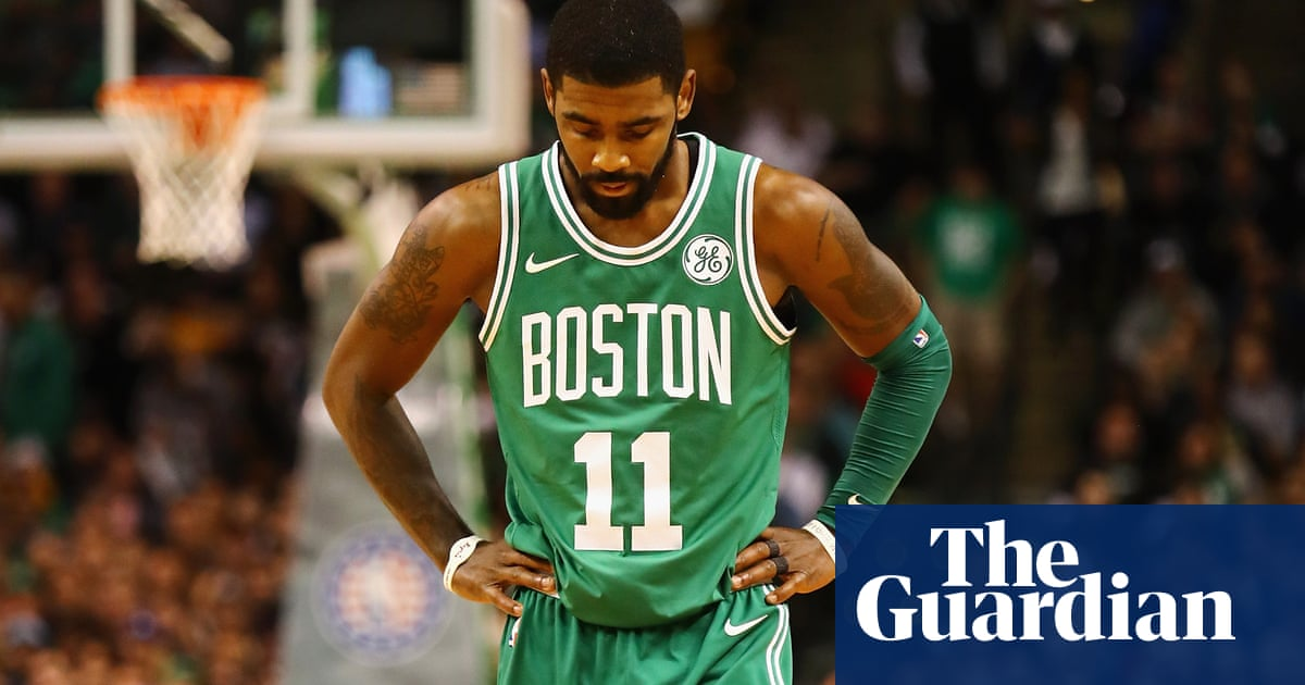 fab34b38b Celtics' Kyrie Irving named Little Mountain as member of Standing Rock Sioux