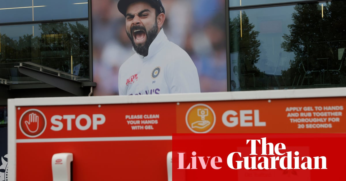England v India fifth Test called off after Covid case – live reaction