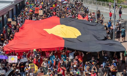 Invasion Day protesters