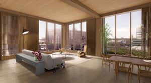The building will be the first in New York City to use modern mass wood systems, and will be the tallest building in the city to use structural timber, pending approvals from the city's department of buildings