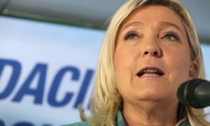 Front National president Marine Le Pen faces racial incitement charges.