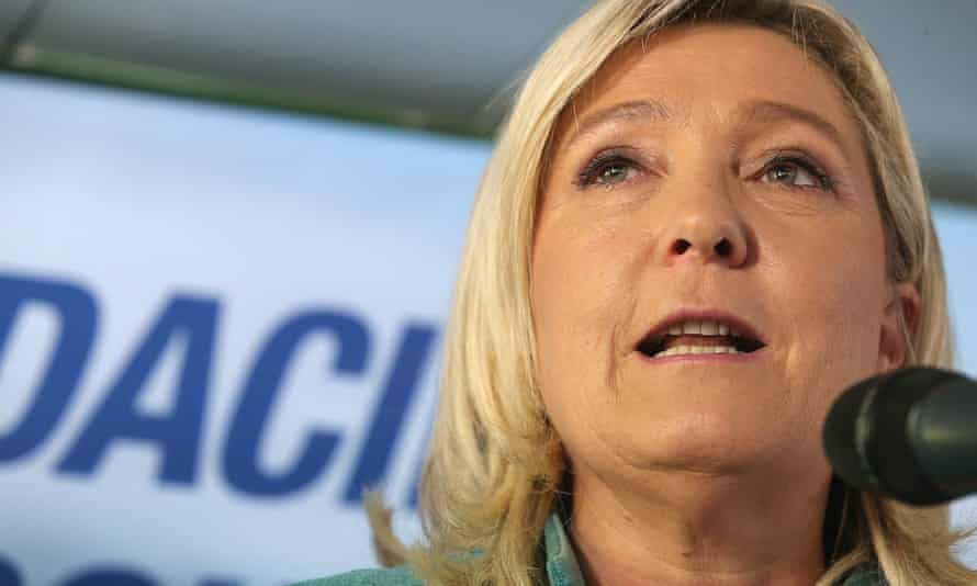 Front National president Marine Le Pen faces racial incitement charges.