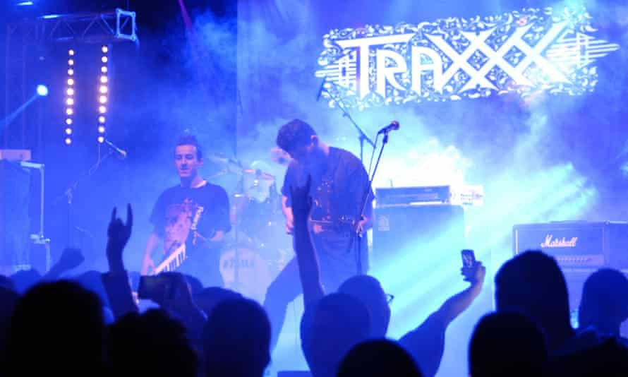 The band Traxxx are from the northern central city of Tizi Ouzou.