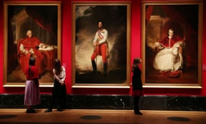 The Waterloo Chamber portraits, part of a series of portraits by Sir Thomas Lawrence depicting those who defeated Napoleon in 1814 are part of the exhibition.