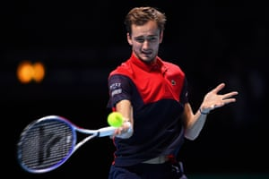 Daniil Medvedev is still fighting.