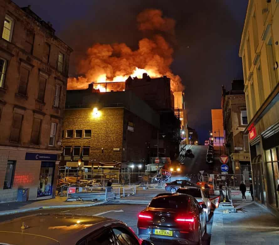 Glasgow School of Art fire, June 2018