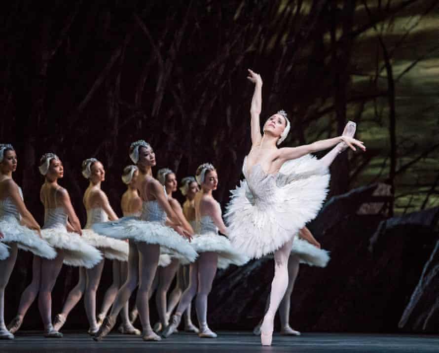 Marianela Nuñez in the Royal Ballet's Swan Lake, May 2018.