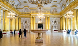A room at the Hermitage Museum.