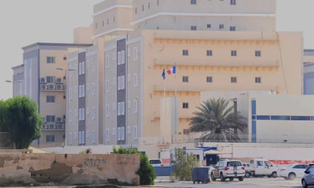 The French consulate in the Saudi Red Sea port of Jeddah.