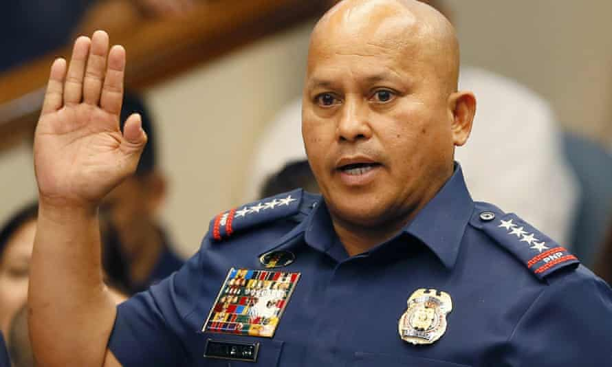 Ronald Dela Rosa, the Philippines' national police chief