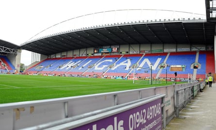 General view of the DW Stadium