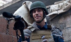 'The world needs people like Foley, and this film argues that cameras are every bit as important as firearms in the current struggle' ... a picture of journalist James Foley in 2012.