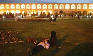 The Unesco-listed Naqsh-eJanan Square, Isfahan, Iran.