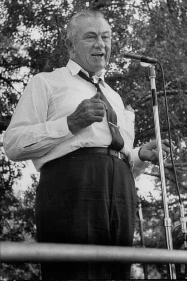 Texas politician W Lee (Pappy) O'Daniel